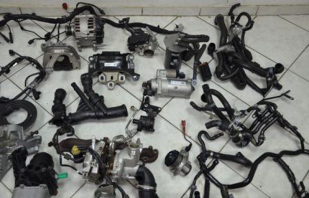 Навесное оборудование мотора автомобилей