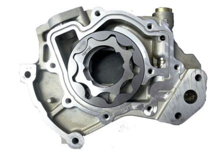 Масляный насос двигателя автомобиля