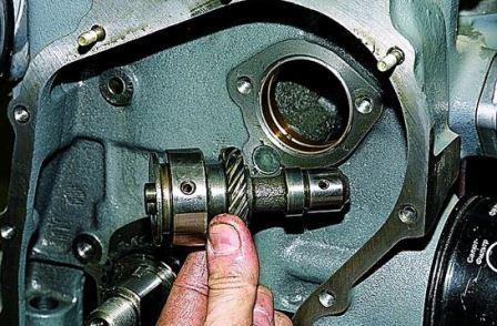 Масляный насос система смазки двигателя