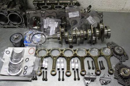 Технический ремонт двигателя