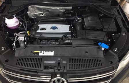 Volkswagen Tiguan двигатели