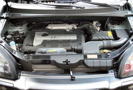 двигатели хендай туксон