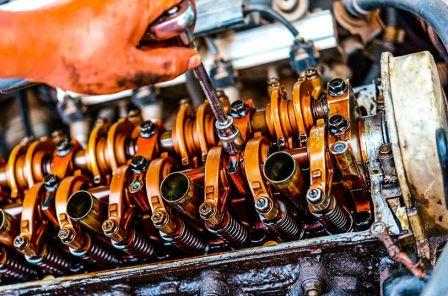 После замены колец греется двигатель