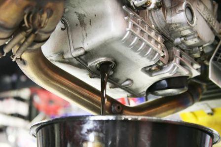 Замена масла капитального ремонта двигателя