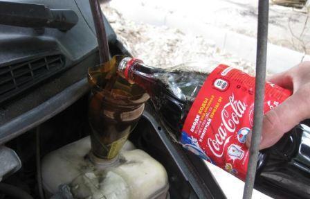 Промыть охлаждение двигателя