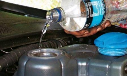 Как промыть двигатель антифриз
