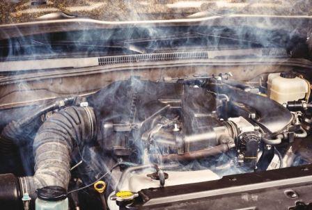 Почему греется двигатель