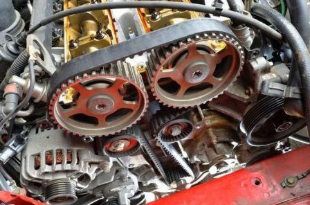 Заменить ремень грм двигателя