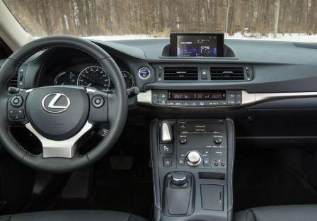 Изменения в Lexus CT 200h 2014 после рестайлинга