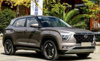 Новый автомобиль Hyundai Creta 2021
